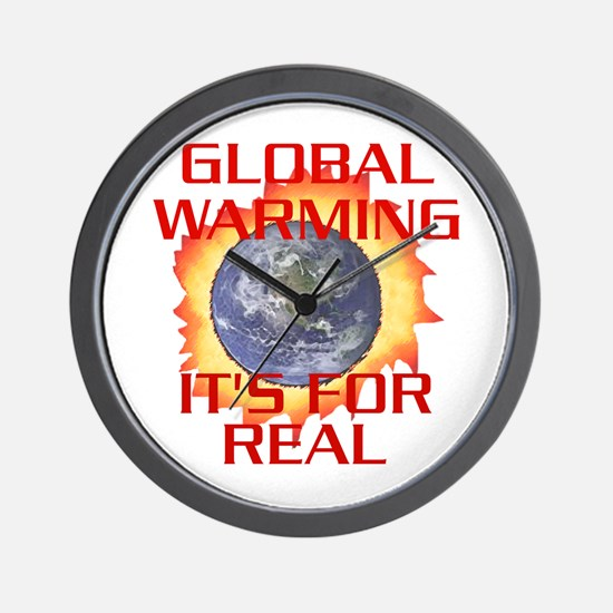 Global Warming Its for Real Wall Clock