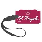 El Royale Hotel Luggage Tag
