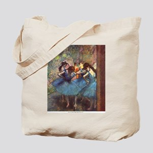 Dancers in Blue Tote Bag