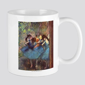 Dancers in Blue Mug