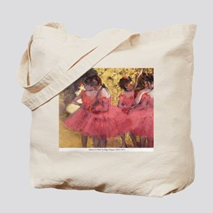 Dancers in Pink Tote Bag