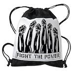 fightthepower Drawstring Bag