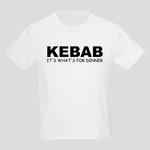 KEBAB: It's What's For Dinner Kids T-Shirt