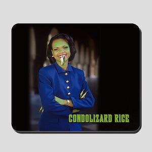 CONDOLIZARD RICE - Mousepad