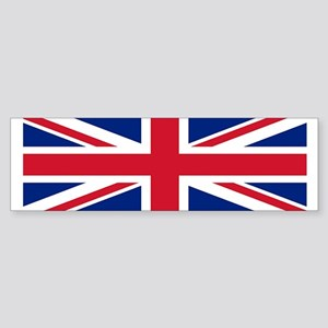 Bumper Sticker with British Flag.