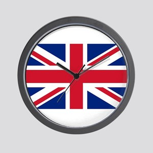 Wall Clock with Union Jack