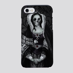 Gothic Skull Lady iPhone 7 Tough Case