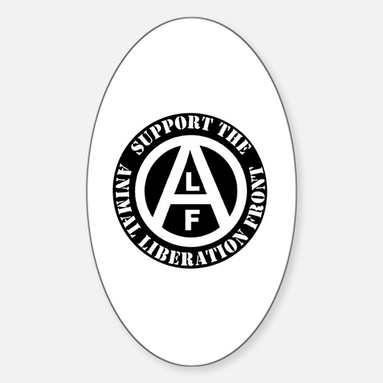 Unique Animal liberation front Sticker (Oval)