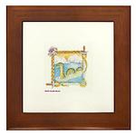 Priscilla's Nessie Framed Tile