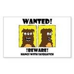 WANTED POSTER #2 Rectangle Sticker