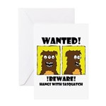 WANTED POSTER #2 Greeting Card