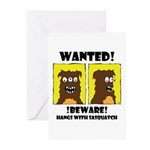 WANTED POSTER #2 Greeting Cards (Pk of 10)