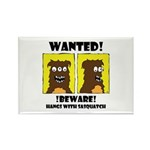 WANTED POSTER #2 Rectangle Magnet (100 pack)