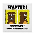 WANTED POSTER #2 Tile Coaster