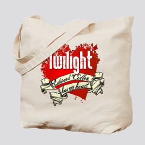 Edward Cullen Has My Heart Tote Bag