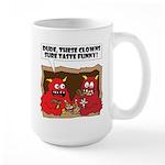 MONSTER eat CLOWNS Large Mug