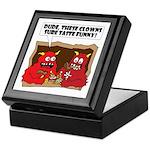 MONSTER eat CLOWNS Keepsake Box