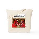 MONSTER eat CLOWNS Tote Bag