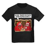 MONSTER eat CLOWNS Kids Dark T-Shirt