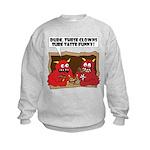MONSTER eat CLOWNS Kids Sweatshirt