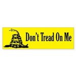 Don't Tread On Me Bumper Sticker (50 pk)