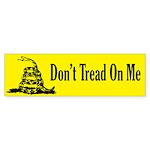 Don't Tread On Me Bumper Sticker (10 pk)