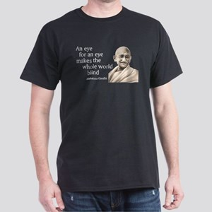 """An eye for an eye makes the Black T-Shirt"