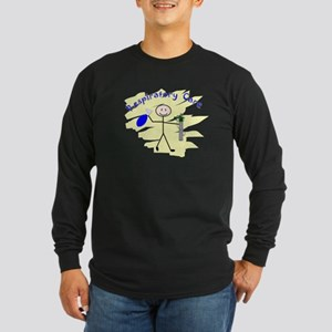 Respiratory Therapy 6 Long Sleeve Dark T-Shirt