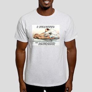 BoneCrusher T-Shirts Ash Grey T-Shirt
