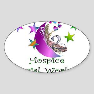 Hospice II Oval Sticker