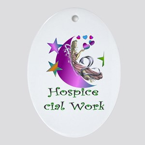 Hospice II Oval Ornament