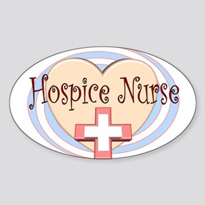Hospice II Oval Sticker
