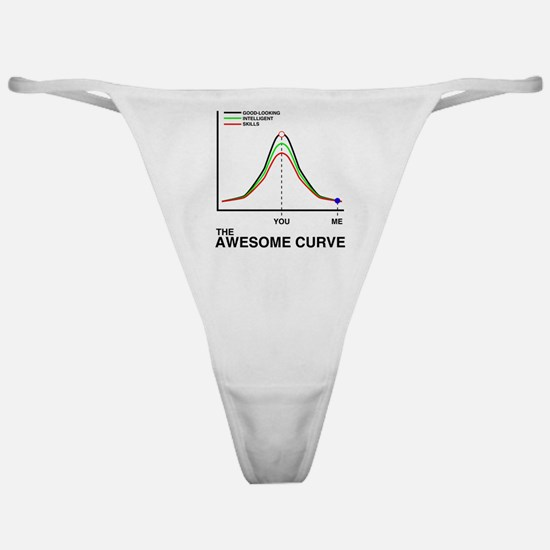 The Awesome Curve Classic Thong