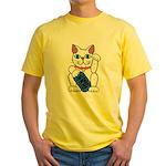 ManekiNeko Yellow T-Shirt