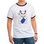 ILY Neko Cat Ringer T