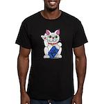 ILY Neko Cat Men's Fitted T-Shirt (dark)