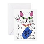 ILY Neko Cat Greeting Cards (Pk of 10)
