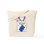 ILY Neko Cat Tote Bag