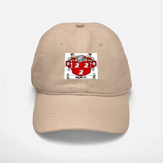 Ryan Coat of Arms Baseball Baseball Baseball Cap (2 Colors)