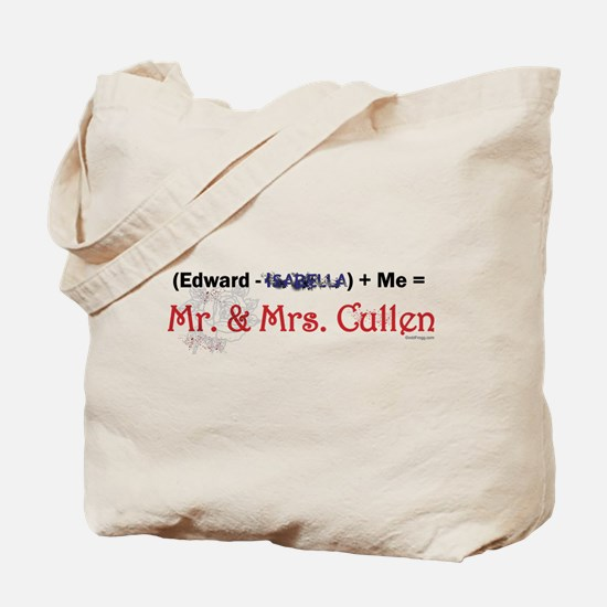 Edward Minus Isabella Tote Bag