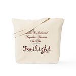 Twilight Bella and Edward Tote Bag
