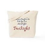 Twilight Movie Vampire Boyfriends Tote Bag