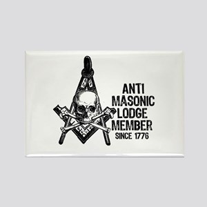 Anti-Masonic Rectangle Magnet