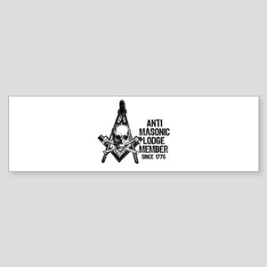 Anti-Masonic Bumper Sticker