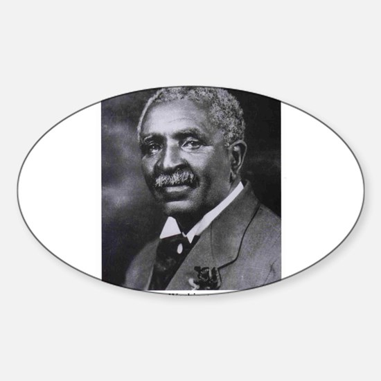George Washington Carver Oval Decal