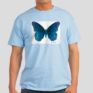 Big blue butterfly Light T-Shirt