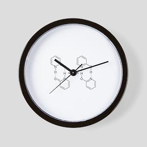 2-Pyridone Chemical Dimer Wall Clock