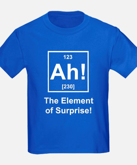 """Ah, The Element of Surprise"" T"