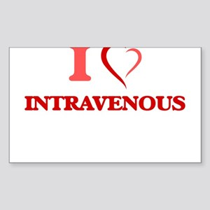I Love Intravenous Sticker