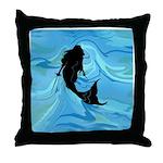 The Rogue Mermaid Throw Pillow